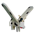 Bild von Vliegfiguur Koe hout kinderkamer Van Dijk Toys