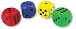 Bild von Jumbo Dobbelstenen gekleurd assortie - Bigjigs