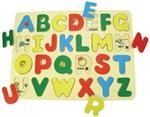 Afbeeldingen van Puzzel ABC Hoofdletters Bigjigs
