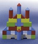 Afbeeldingen van Bouw-blokken - Gekleurde blokken startset (30 stuks) HABA