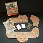 Afbeeldingen van Keez Bordspel - 4 en 6 persoons in puzzelbord