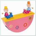 Afbeeldingen van Spaarpot Zeemeermin (roze)