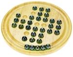 Afbeeldingen van Spel Solitair met glazen kralen Bigjigs