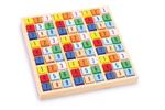 Afbeeldingen van Sudoku gekleurd 17,5 x 17,5 cm.