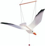 Bild von Vliegfiguur meeuw