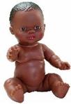 Afbeeldingen van Babypop Gordi Afro Meisje - 34 cm