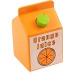 Bild von Houten drank Pakje jus d'orange Bigjigs