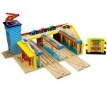 Bild von Centraal Station houten treinbaan Bigjigs