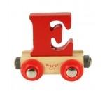 Bild von Naamtrein, lettertrein kleurrijk Bigjigs letter E