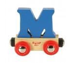 Afbeeldingen van Letter M kleur, naamtrein - lettertrein Bigjigs