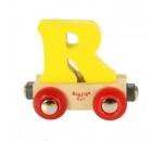 Afbeeldingen van Letter R kleur, naamtrein - lettertrein Bigjigs