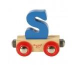 Afbeeldingen van Letter S kleur, naamtrein - lettertrein Bigjigs