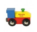 Afbeeldingen van Locomotief voor naamtrein - lettertrein Bigjigs