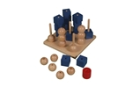 Bild von Drie op een Rij 3cm drie-dimensionaal Van Dijk Toys