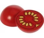 Afbeeldingen van Houten groente Tomaatje half Bigjigs