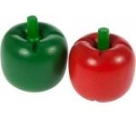 Afbeeldingen van Houten groente Paprika groen Bigjigs