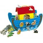 Afbeeldingen van Speelset Ark van Noah hout Bigjigs