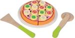Afbeeldingen van Snijset pizza 'funghi' New Classic Toys