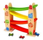 Afbeeldingen van Jodelbaan met auto's New Classic Toys