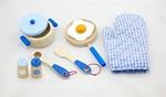 Afbeeldingen van Kookset prins Blauw New Classic Toys