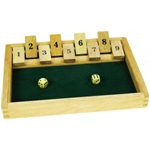 Afbeeldingen van Shut the box - Bigjigs