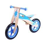 Picture of Houten loop-balansfiets blauw 3+ Bigjigs