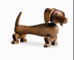 Picture of Kay Bojesen houten Hond of Teckel 10,5 cm