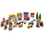 Afbeeldingen van Accessoires voor houten treinbaan Bigjigs