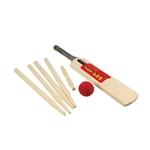 Afbeeldingen van Cricket Set hout - Size 03 Softbal Bigjigs
