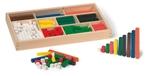Picture of Rekenstaven 300 stuks gekleurd in kist