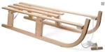 Image de Houten slee, opvouwbaar - 110 cm