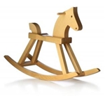 Picture of Kay Bojesen houten Hobbelpaard Rocking horse