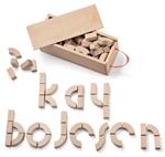 Afbeeldingen van Kay Bojesen Alfabet blokken