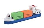 Bild von Havenlijn Barge, Binnenvaartschip, Rijnaak New Classic Toys