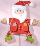 Bild von Trekpop luxe kerstman HABA