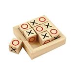 Afbeeldingen van Spel mini Boter-Kaas-Eieren/Kruisje-Rondje Bigjigs