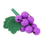 Afbeeldingen van Houten fruit Druiven Bigjigs