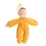 Afbeeldingen van Grimm's zachte pop geel 30 cm