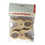 Bild von Reuzen knijpers set van 2 stuks Berkenmultiplex