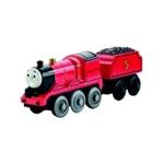 Bild von Thomas locomotief James voor houten rails