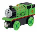 Afbeeldingen van Thomas houten treinbaan lokomotief Percy