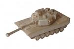 Afbeeldingen van Amerikaanse legertank 25 cm 100% beukenhout