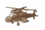 Afbeeldingen van Moderne helicopter 31 cm 100% beukenhout