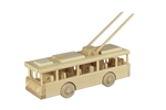 Afbeeldingen van Trollybus Arnhem 28 cm 100% beukenhout