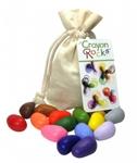 Bild von Kleurkrijt wasco Soja Cotton Muslin 16 kleuren - Crayon Rocks