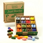 Bild von Kleurkrijt wasco Soja Crayonbox 4 x 16 kleuren - Crayon Rocks