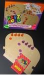 Afbeeldingen van Keez bord kunststof puzzelvorm aanvull 4-6 pers. kunststof
