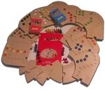 Afbeeldingen van Keez totaalbox-2,4,6 en 8 persoons in  puzzelbord kunststof