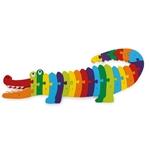Afbeeldingen van ABC-Puzzel Krokodil