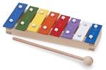 Bild von Xylofoon metalofoon klein gekleurd New Classic Toys